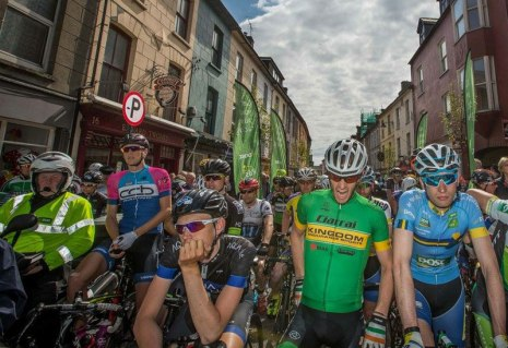 An Post Ras 2016: Stage start in Dingle.